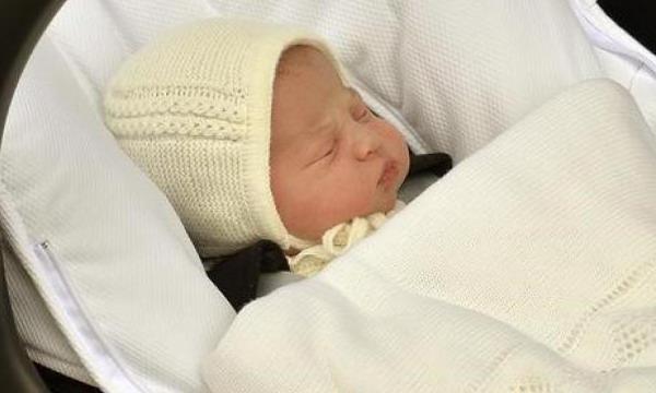 Принц Уильям и Кейт Миддлтон назвали имя принцессы
