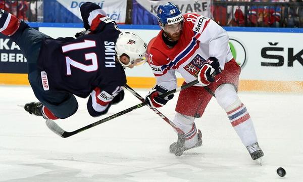 Сборная США победила Чехию 3:0 в матче за 3 место на ЧМ-2015 по хоккею