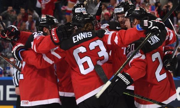 Сборная Канады разгромила сборную России 6:1 и выиграла ЧМ-2015 по хоккею