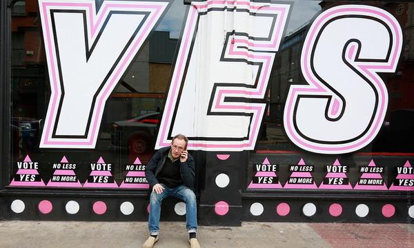 Ирландия на референдуме легализовала однополые браки