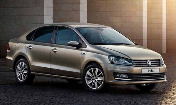 Volkswagen представил обновленный седан Polo Sedan