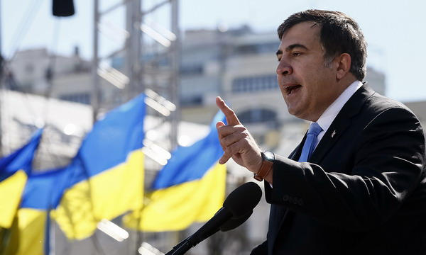 Порошенко назначил Саакашвили главой Одесской области