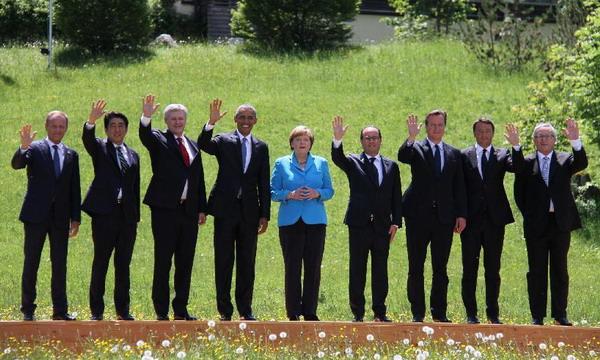 В Германии открылся саммит G7