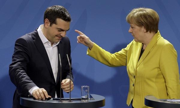 Меркель, Олланд и Ципрас встретятся 10 июня