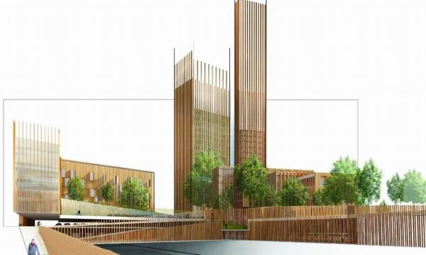Архитекторы создали проект самого высокого в мире деревянного небоскрёба