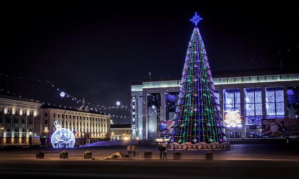 Программа праздничных мероприятий в Минске на Новый год и Рождество