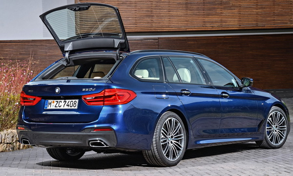 Универсал BMW 5-Series Touring показали официально