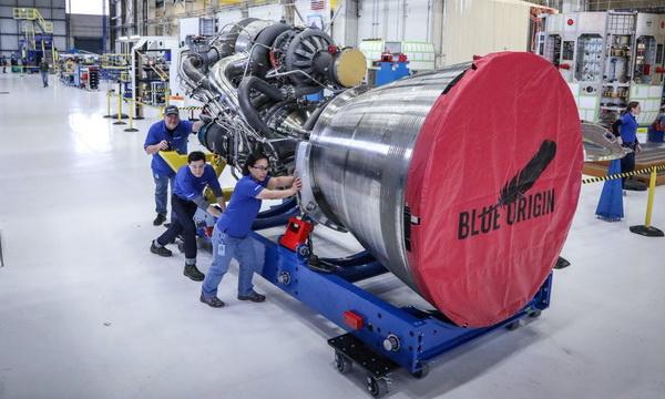 Основатель Amazon представил двигатель для космической ракеты