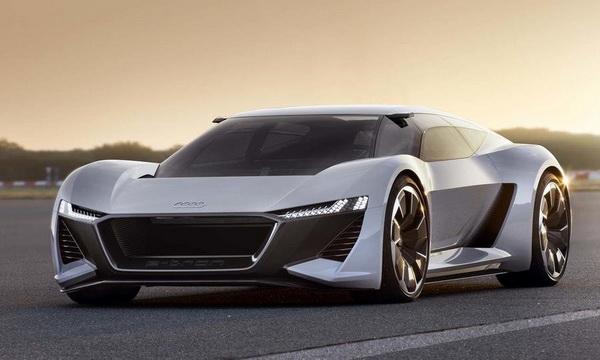 Audi показала концепт электрического спорткара Audi PB18 e-tron