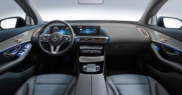 Mercedes показал первый электромобиль семейства EQ