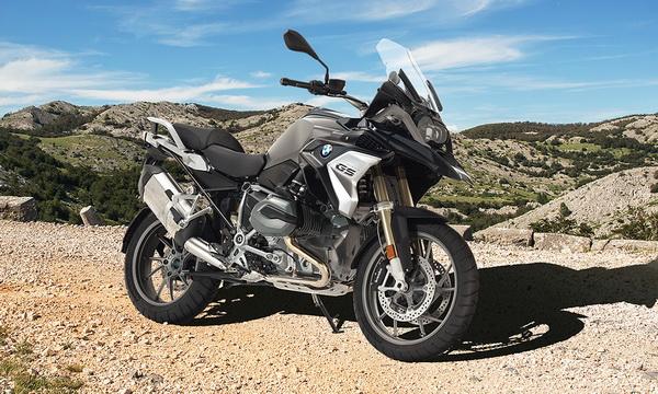 Представлен беспилотный мотоцикл BMW R 1200 GS ConnectedRide