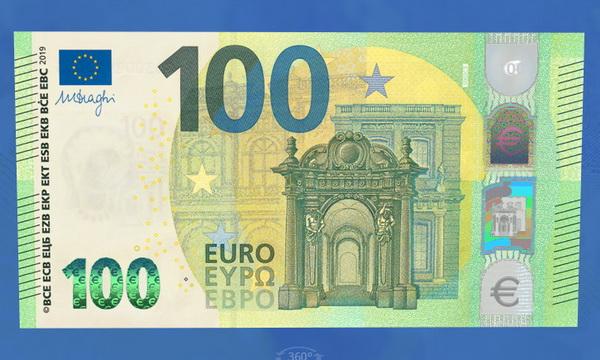 Европейский центробанк представил дизайн новых евро