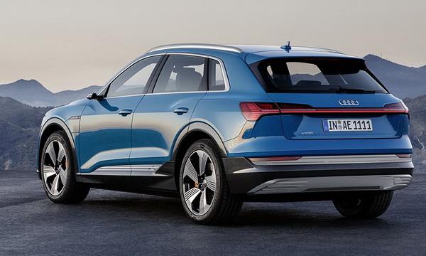 Audi представила новый электрический кроссовер e-tron