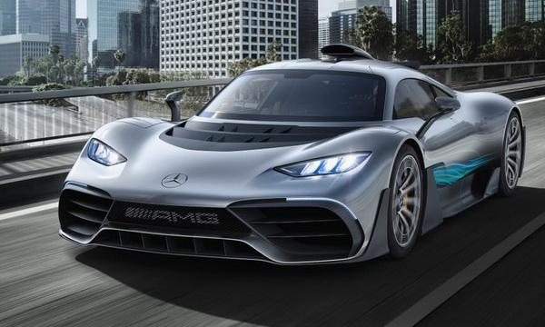 Гиперкар Mercedes-AMG Project ONE проходит последние тесты