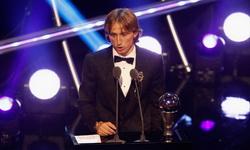 Лука Модрич признан футболистом года ФИФА