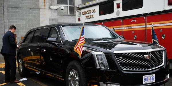 Новый лимузин Трампа: первые фото и информация
