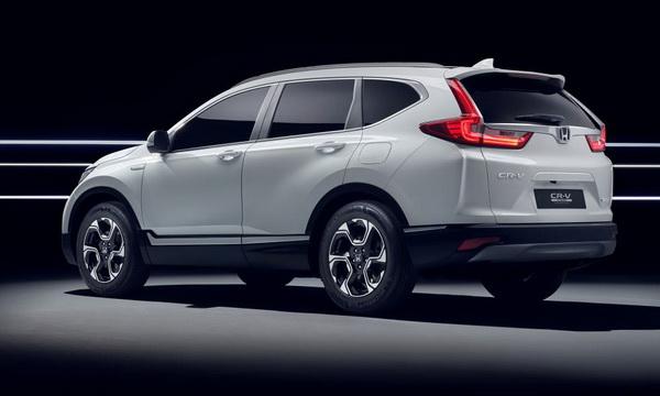 Honda рассекретила новый Honda CR-V hybrid