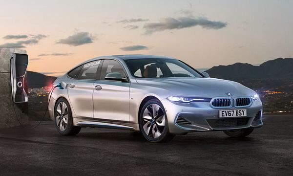 Электромобиль BMW i4 выпустят в 2021 году