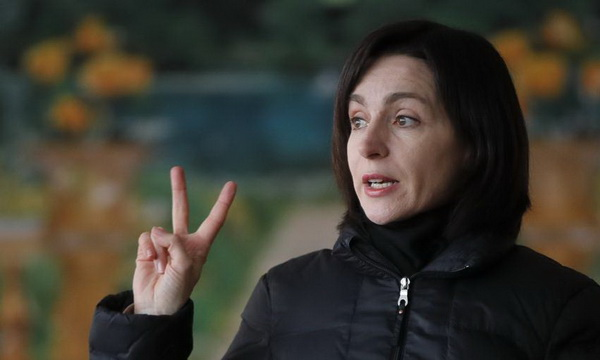 Санду одержала победу на выборах президента Молдовы